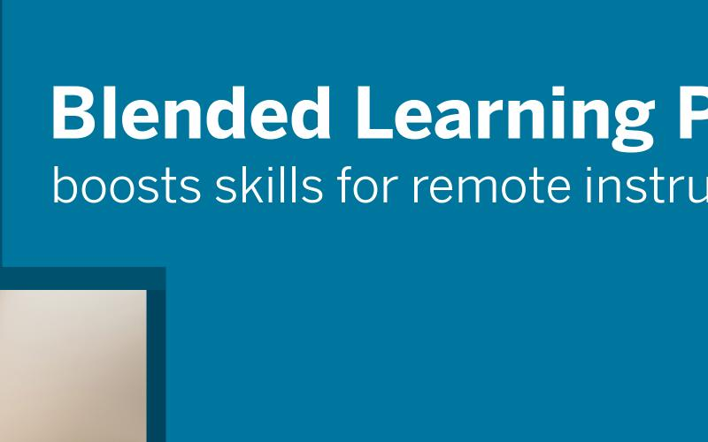 Blended Learning PD boosts skills for remote instruction